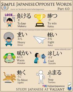 Japanese opposites