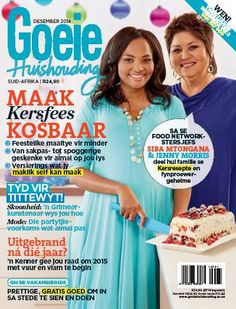 Get your digital subscription/issue of Good Housekeeping South Africa-December 2014 Magazine on Magzter and enjoy reading the magazine on iPad, iPhone, Android devices and the web. Jenny Morris, Good Housekeeping, December 2014, All You Can, Family Christmas, Food Network Recipes, South Africa, Health And Wellness, Make It Yourself