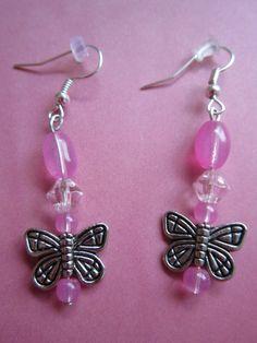 Tween HypoAllergenic SilverTone Butterfly by BeadazzlingButterfly
