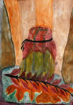 Ősz/Autumn Lombok, Watercolor Paintings, Autumn, Water Colors, Fall Season, Fall, Watercolour Paintings, Watercolor Painting