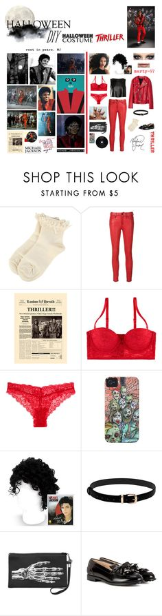 Halloween Party: Thriller!! by marty-97 on Polyvore featuring moda, Frame Denim, Tod's, TIBI and Jason Wu