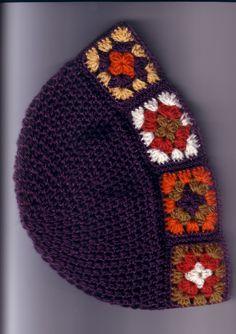 Gorros tejidos a crochet para mujer con esquema - Imagui