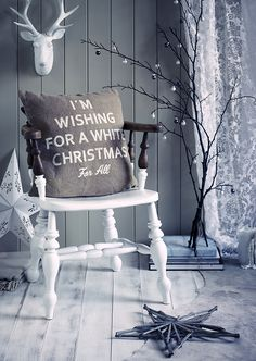 White Christmas: love this except for the fake deer head on the wall (we have real ones LOL)