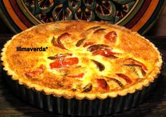 llimaverda: Quiche de tomates y parmesano