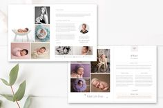 Studio Photography Magazine Template by By Stephanie Design on @creativemarket