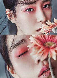 Lim Ji Yeon is an elegant flower for 'Sure' Chinese Makeup, Asian Eye Makeup, Japanese Makeup, Ethereal Makeup, Ethereal Beauty, Monolid Makeup, Beauty Makeup, Makeup Inspo, Makeup Inspiration