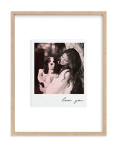"""Polaroid Snap"" - Custom Photo Art Print by Minted in beautiful frame options and a variety of sizes. Custom Art, Custom Photo, Instax Mini 9, Perfect Gift For Her, Memorial Gifts, Plexus Products, Custom Framing, Wall Art Prints, Photo Art"