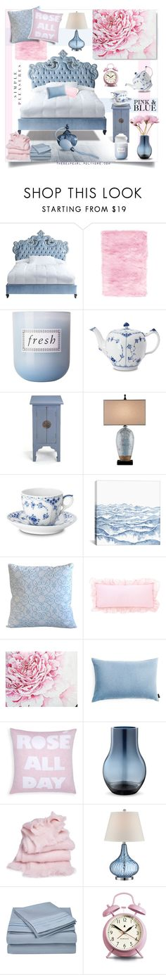 """""""Pantone 2016 Bedroom: Simple Pleasures"""" by theseapearl ❤ liked on Polyvore featuring interior, interiors, interior design, home, home decor, interior decorating, Haute House, Home Decorators Collection, Fresh and Royal Copenhagen"""