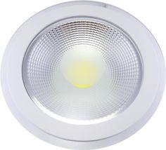 Varianta cu lumina calda a SPOTULUI COB LED 15W ROTUND ALB CALD CU GEAM ofera o lumina prietenoasa si placuta. Se monteaza foarte usor in rigips sau in tavan aparent. Se alimenteaza la 220V cu ajutorul transformatorului inclus in pachet.