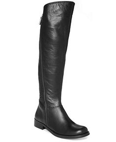 Two Lips Jump Over-The-Knee Flat Boots - Shoes - Macy's 8.5