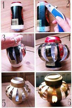 Cool way to make a lantern