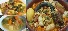 Receta Tradicional de Cocido Andaluz #andalucia #comer #cocido #españa