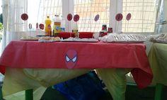 Compleanno Lorenzo tema spider man