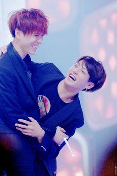 Jungkook and Yugyeom: