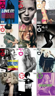 Kate Moss i-D Magazine Cover #Kate_Moss #Woman #Beauty | @andwhatelse