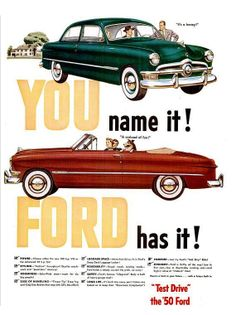 Ford, LIFE 11 Sep 1950
