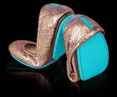 Tieks Old Hollywood Collection - Designer Ballet Flats That Sparkle. LOVING this new Tieks collection!!! WANT!