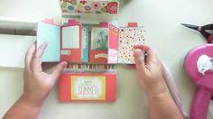 scrapbooking tutorial mini album ♥