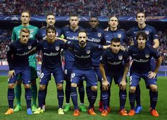 Atleti vs Benfica // Once inicial // 1-2