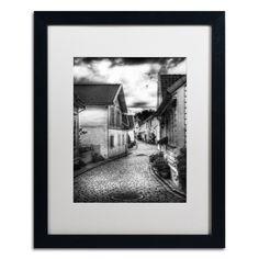 'Old Stavanger Part II' by Erik Brede Framed Photographic Print