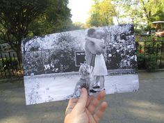 You've Got Mail  Riverside Park – New York  Photographs by Christopher Moloney