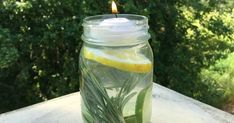 Nothing ruins a summer BBQ or picnic like an invasion of mosquitos. For an all-natural way to get mosquitos off the guest list at your next outdoor gathering try this simple Mosquito Repellant Mason Jar. Lemon Eucalyptus Oil, Keeping Mosquitos Away, Keep Bugs Away, Natural Mosquito Repellant, Insect Repellent, Good To Know, Natural Remedies, Mason Jars, Pot Mason