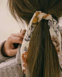 Pretty ponytail hairstyle #hairstyles