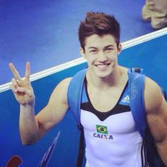 aaronfromparis: Arthur Nory Oyakawa Mariano is a Brazilian gymnast. He's veryyyy sexy and when he shows himself on skype, we…