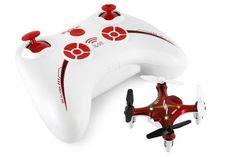 Syma X12 Nano 6-Axis Gyro 4 Channel RC Quadcopter (RED)