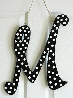 Items similar to Wooden Letters for Door Decorations - Wall Letters - Monograms on Etsy