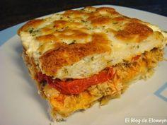 Pastel de Atún y Pimiento Rojo. Ideal para llevar de picnic!!!