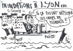 BéGé- Bernard Gros (2018-01-24)  France: inondations- migrants