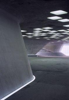 3inches: Phaeno Science Center, Wolfsburg, Germany by Zaha Hadid Architects and Mayer Bahrle Freie Architekten BDA