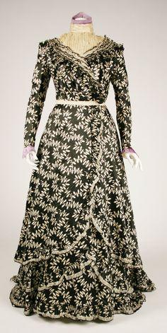 ca. 1900-1902, American, silk.