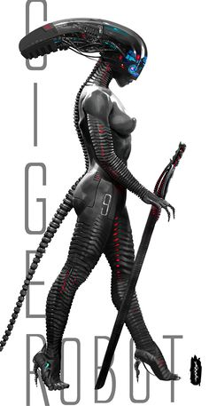 Robot Giger! on Behance