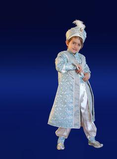 Sünnet kıyafeti Mavi Taşlı Şehzade | sünnet kıyafetlerim
