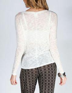 FULL TILT Essential Womens Weekend Sweater