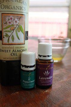 All-Natural Sunburn Remedy #oilyfamilies