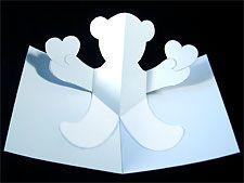 teddy bear pop-up from Robert Sabuda  inkspired musings: Valentine Iris Folding and Pop-Ups
