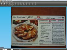 Digitize your thanksgiving recipes and make them editable! No scanner needed.   #thanksgiving #recipes #MSWord #software