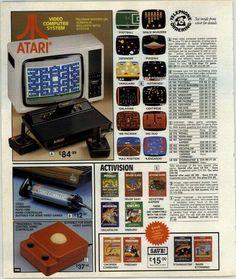 Vintage Atari ad