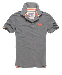 e2a118e1455542 Superdry Classic Pique Polo Superdry Mens