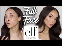 Full Face using only ELF Makeup (& Brushes!) - YouTube