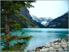 one of the most beautiful places i have been: lake louise, canada