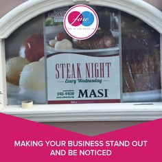 Making your business stand out and be noticed.  #FinePrint #qualityprinting #companyimage #branding #signage