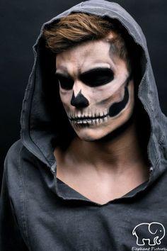maquiagem para halloween masculina