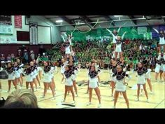 Definitely the best high school cheer team I've ever seen! Sorry, Roseville! I really do hate the music, though...