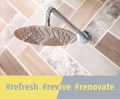 Shower Rose, Large Shower, Design Trends, Showers, Relax, Make It Yourself, Bathroom, Washroom, Big Shower