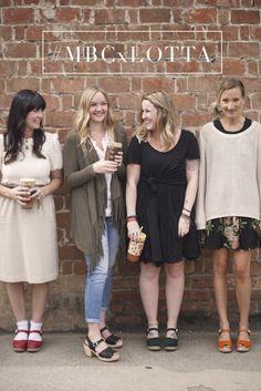 The lovely Mason Bar girls wearing lotta clogs