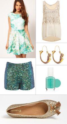 Mermaid Hoop Earrings featured in the @Bloomspot blog. Shop them here: http://shop.susanrockefeller.com/collections/mission-of-mermaids/products/mermaid-hoop-earrings